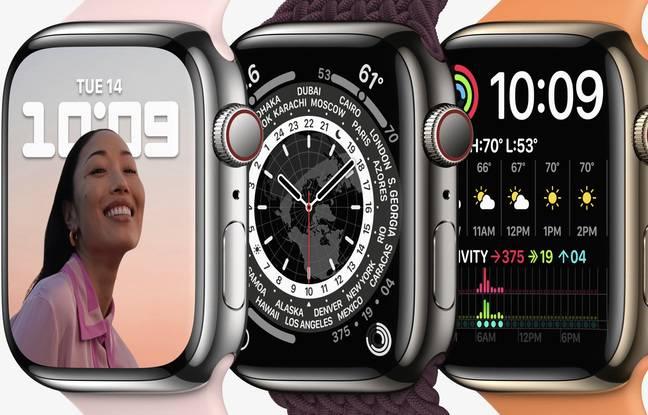 Dzięki powiększeniu ekranu o 20% wyświetlacz Apple Watch Series 7 zyskuje na ergonomii.
