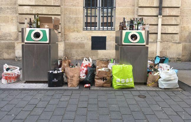 Il existe un millier de points de collecte du verre sur la métropole de Bordeaux, mais ceux-ci sont régulièrement débordés.