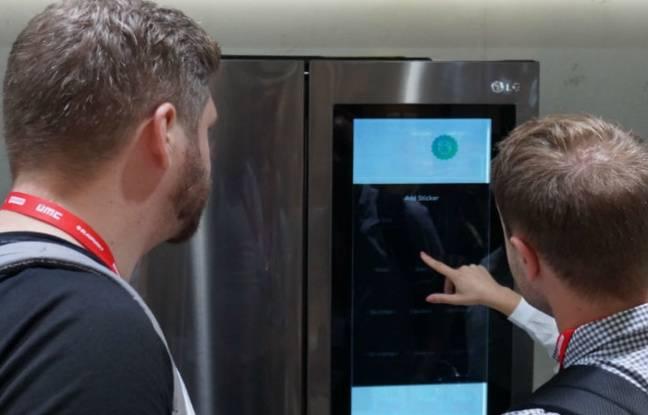 Vous rêviez d'un réfrigérateur sous Windows 10? Avec son Smart InstaView, LG l'a fait!