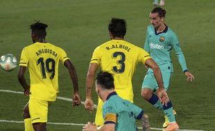 Antoine Griezmann a inscrit un but magnifique lors de Barcelone-Villarreal, le 5 juillet 2020.