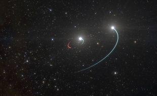 Le trou noir a été découvert dans le système stellaire « HR 6819 ».