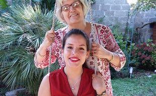 Brigitte Garrette a accueilli Alejandra Lopez Marin, étudiante Erasmus, dans son domicile à Bordeaux.