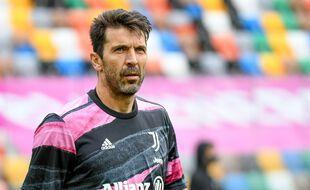 Gianluigi Buffon lors d'Udinese-Juventus Turin, le 2 mai 2021.