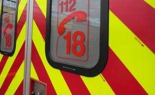 Les pompiers ont secouru une femme après sa chute du quatrième étage (Illustration).