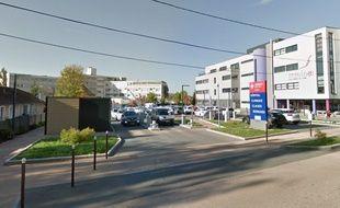 L'hôpital-clinique Claude-Bernard, à Metz.