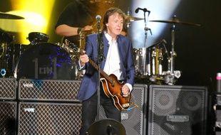 Paul McCartney sur la scène du Desert Trip