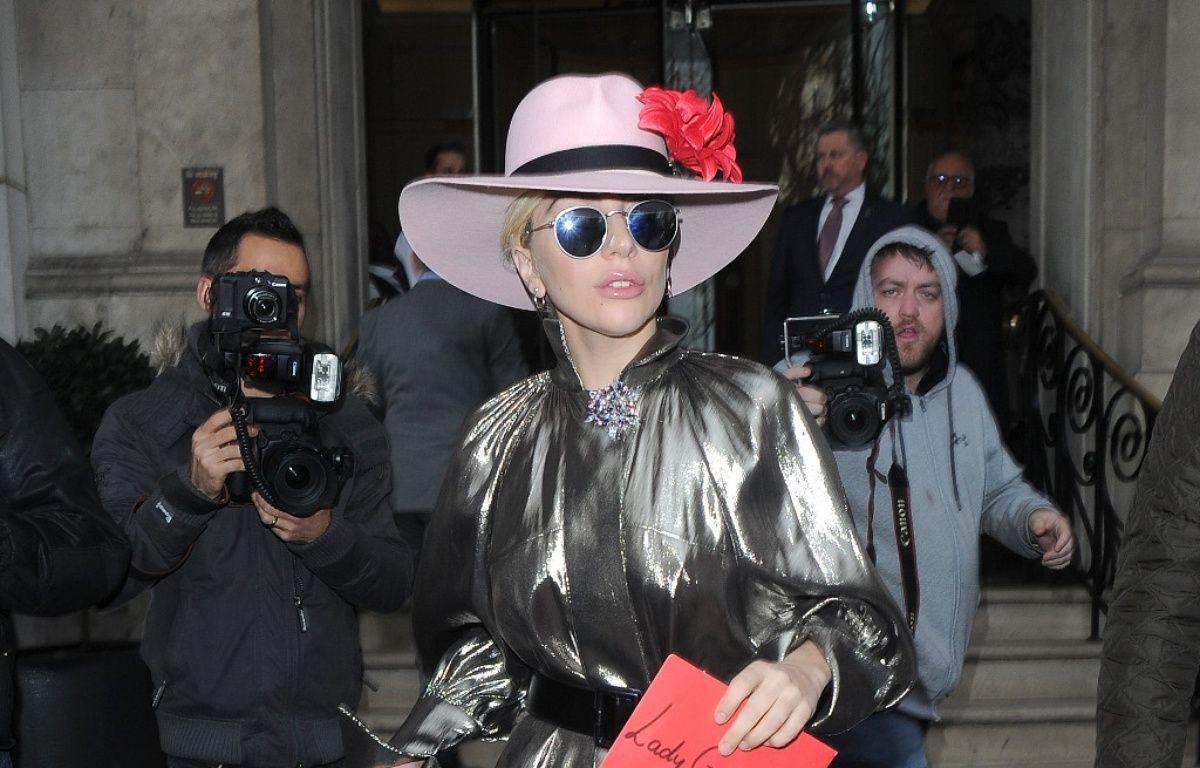 Lady Gaga lors de sa dernière venue à Londres – WENN
