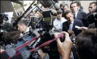 """Le ministre de l'Intérieur Nicolas Sarkozy a accusé une nouvelle fois la justice de la Seine-Saint-Denis, aux portes de Paris, de """"démission"""" face aux délinquants, après la publication d'une lettre du préfet s'alarmant de la recrudescence de la délinquance."""