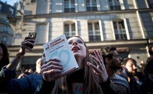 Paris, le 23 avril 2017. Au premier tour de l'élection présidentielle, La  France insoumise se situait juste derrière Emmanuel Macron dans le Val-d'Oise.