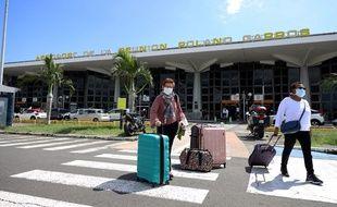 L'aéroport Roland-Garros à Saint-Denis de La Réunion.