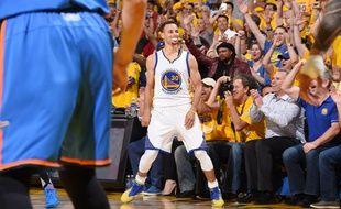 Le meneur de jeu des Golden State Warriors Stephen Curry, le 18 mai 2016.