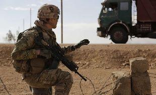 Un soldat américain en Irak (illustration).