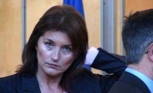 Cécilia, l'ex-épouse de Nicolas Sarkozy.