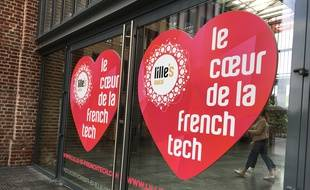 Lille, le 30 mai 2017 - Le parc Euratechnologies, label French Tech