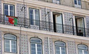 Immeuble décoré d'Azuelos à Lisbonne.