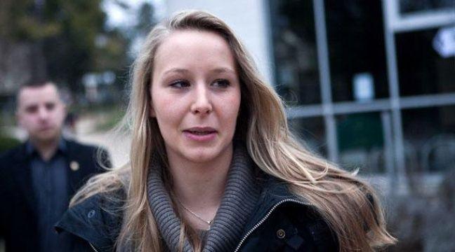 Marion Le Pen, le 14 mars 2010 àSaint-Cloud.  – REVELLI-BEAUMONT/SIPA