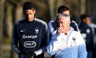 Didier Deschamps comprend la baisse de forme de Raphaël Varane.