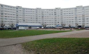 Immeuble de la Cité nucléaire dans le quartier de Cronenbourg, à Strasbourg. Un trafic de cannabis vient d'y être démantelé par la brigade des stupéfiants. (Illustration)