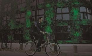 Des plantes luminescentes pour se balader en vélo la nuit.