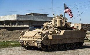 L'armée américaine à al-Malikiyah en Syrie, le 2 février 2021.