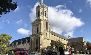 Le chantier de restauration de l'église Notre-Dame-en-Saint-Melaine à Rennes doit démarrer au dernier trimestre 2022.