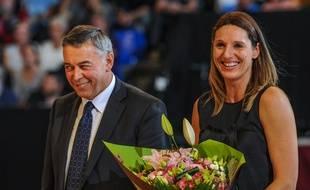 Audrey Sauret récompensée en 2014.