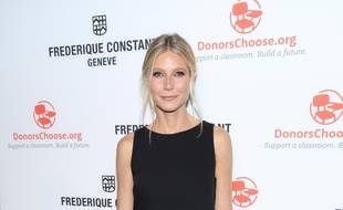 L'actrice Gwyneth Paltrow à New York