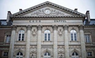 La façade de la Cour d'appel d'Amiens.