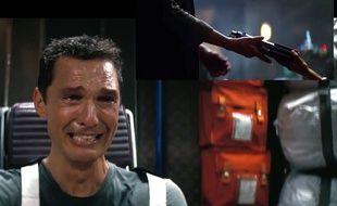 Matthew McConaughey, dans Interstellar, face à la nouvelle bande-annonce de «Star Wars».