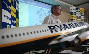 Michael O'Leary, le patron de la compagnie aérienne low cost irlandaise Ryanair annonce que Marseille ne sera plus une des bases de sa compagnie à partir de janvier prochain