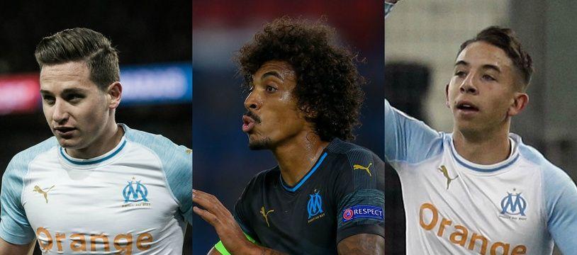 Thauvin, Gustavo ou Lopez pourraient quitter l'OM cet été.