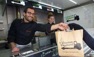 Le Gourmet Vagabond a été le premier food truck à s'installer sur la place Hoche.