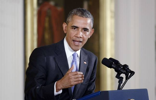 Obama d fend l 39 accord sur le nucl aire iranien for Barack obama maison blanche