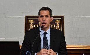 L'opposant vénézuélien Juan Guaido