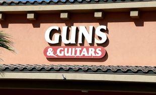 Un magasin où le suspect de la tuerie de Las Vegas aurait acheté des armes.