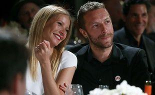 Gwyneth Paltrow et Chris Martin en janvier 2014, deux mois avant leur rupture.