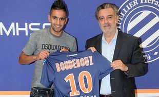 Ryad Boudebouz va partir en fin de saison, mais le président délégué Laurent Nicollin souhaite le vendre pour au moins 12 millions d'euros.