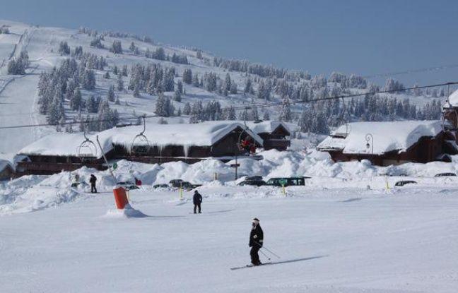 La station des Saisies, en Savoie