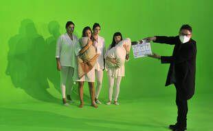 Le tournage du film mexicain  «Nudus» de Gibran Bazan en plein Covid-19.