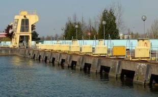 L'usine hydroélectrique du Rohrschollen.