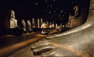 Le musée égyptien de Turin.
