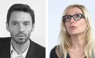 Edouard Bourcieu, de la Commission européenne, et Amélie Canonne, présidente de l'Association internationale des techniciens, experts et chercheurs (Aitec).