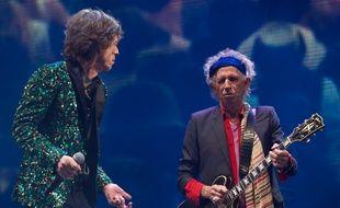 Mick Jagger et Keith Richards en 2013.