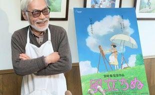 Hayao Miyazaki, le 3 mars 2014, à Tokyo.