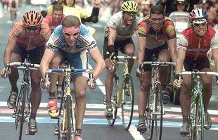 Le Français Laurent Brochard, le 12 octobre 1997, à Saint-Sébastien.