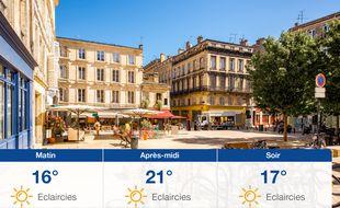 Météo Bordeaux: Prévisions du mercredi 30 septembre 2020