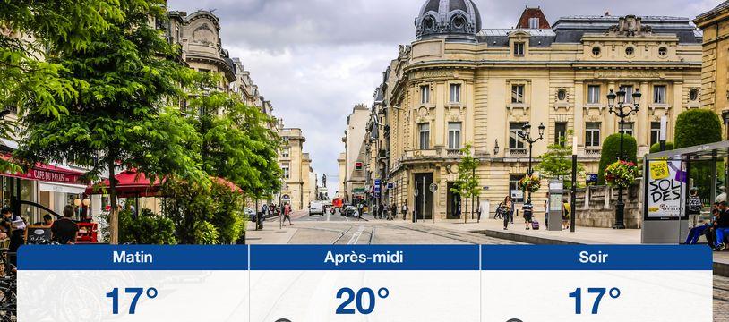 Météo Reims: Prévisions du mercredi 8 juillet 2020