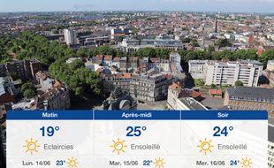 Météo Lille: Prévisions du dimanche 13 juin 2021