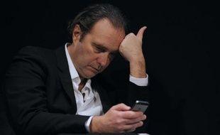Le patron d'Iliad Xavier Niel à Paris le 10 mars 2014