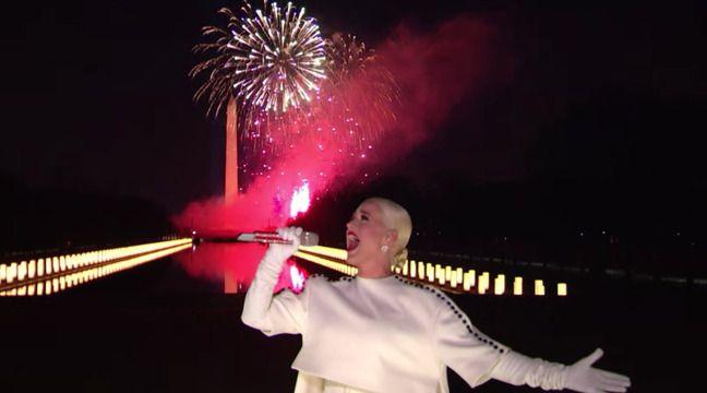 Investiture de Joe Biden: Katy Perry impressionne avec «Firework» lors de l'investiture de Joe Biden
